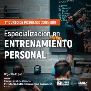 """Postgrado en """"Especialización en Entrenamiento Personal"""""""