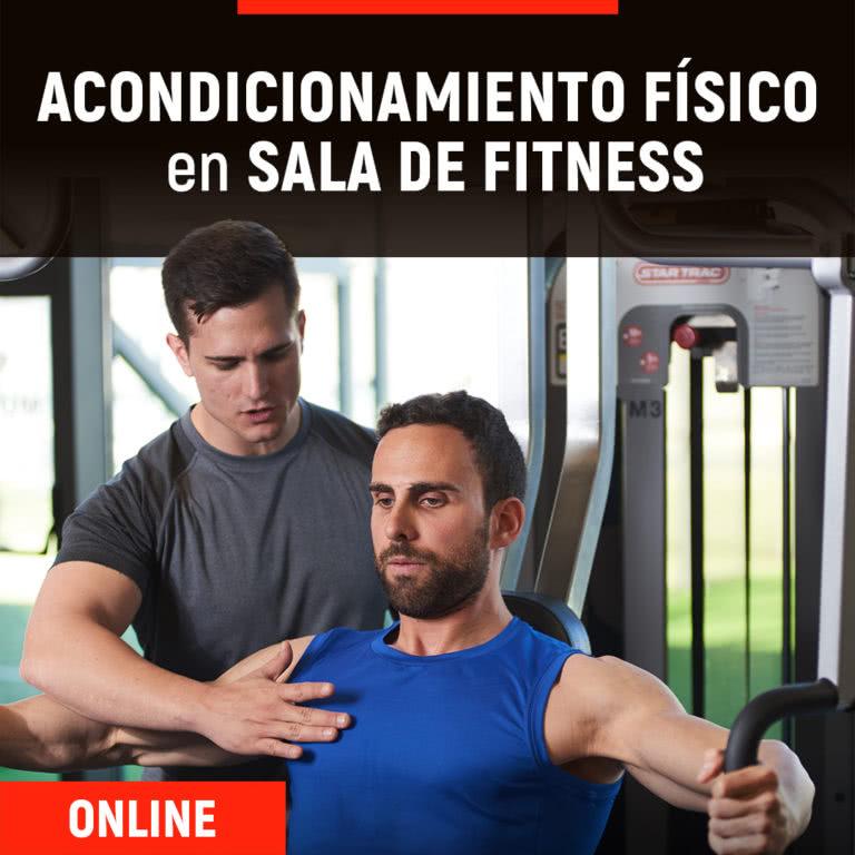 Formación Online de Acondicionamiento Físico en Sala de Fitness | ESHI