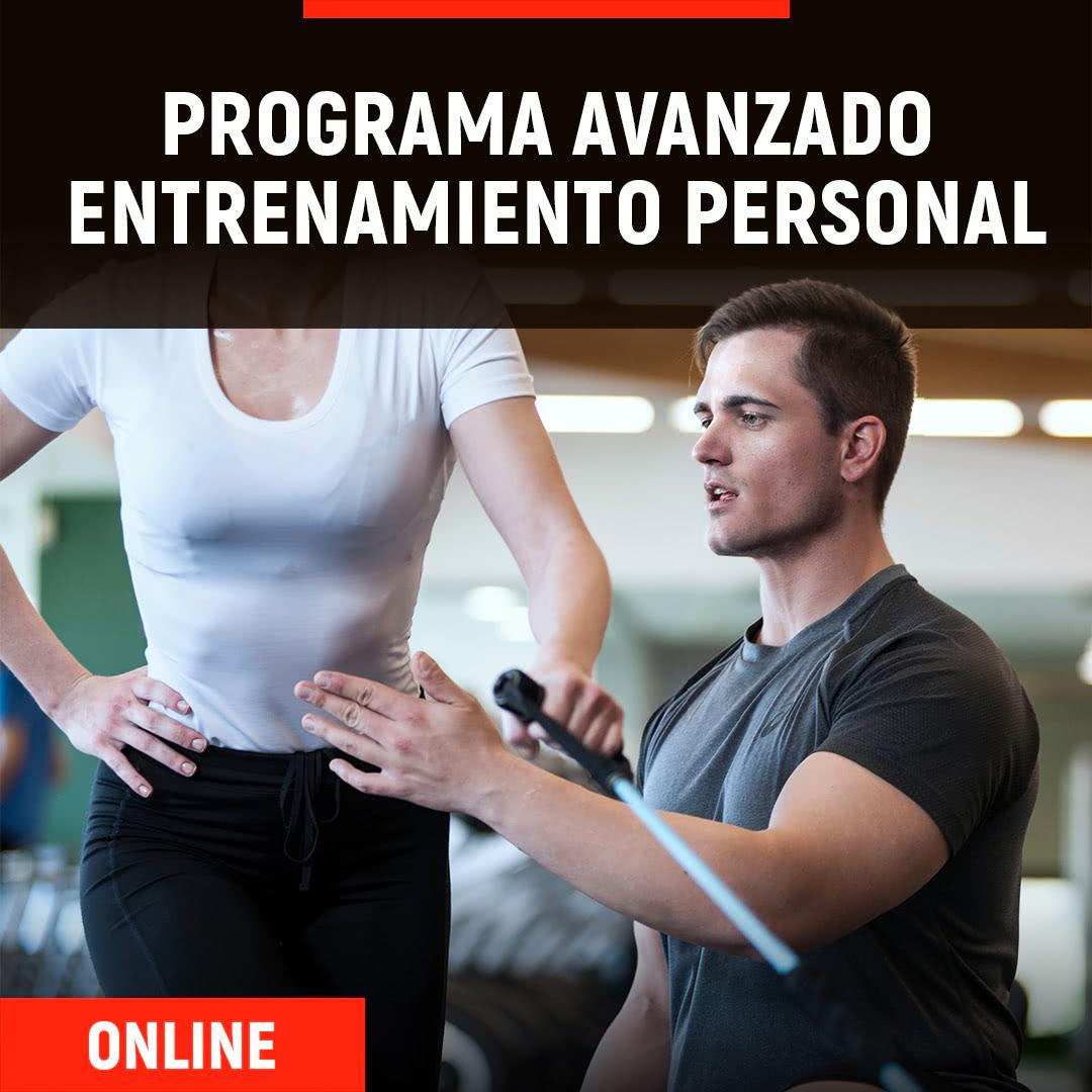 Programa Avanzado Online en Entrenamiento Personal