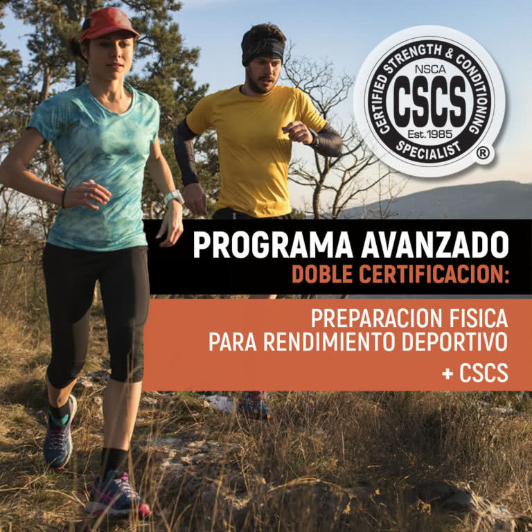 Programa avanzado en preparación física para el rendimiento deportivo + CSCS (NSCA) | Tenerife 15/06/2019