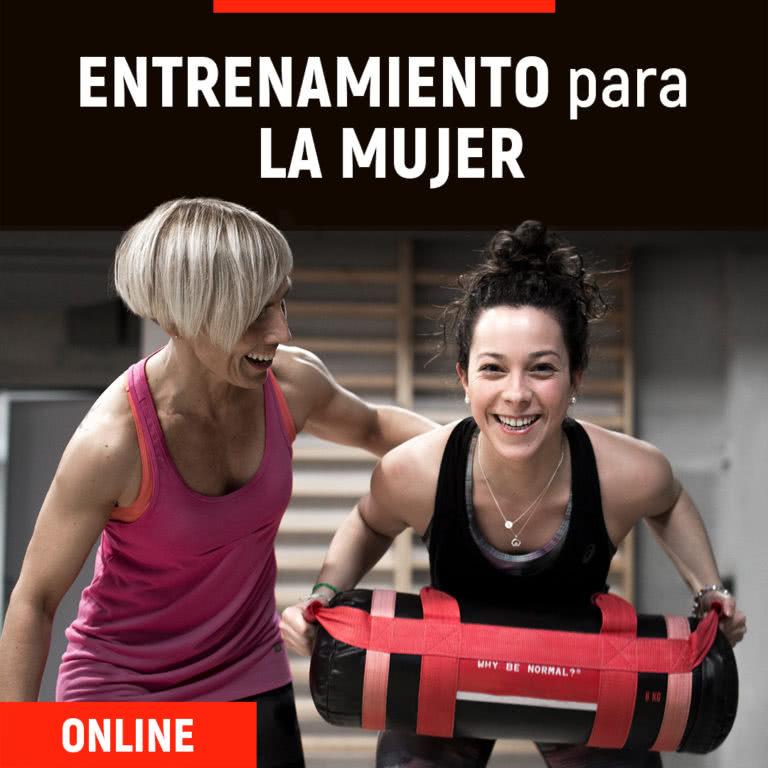 Formación online de entrenamiento para la mujer