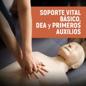 Soporte Vital Básico, DEA y Primeros Auxilios