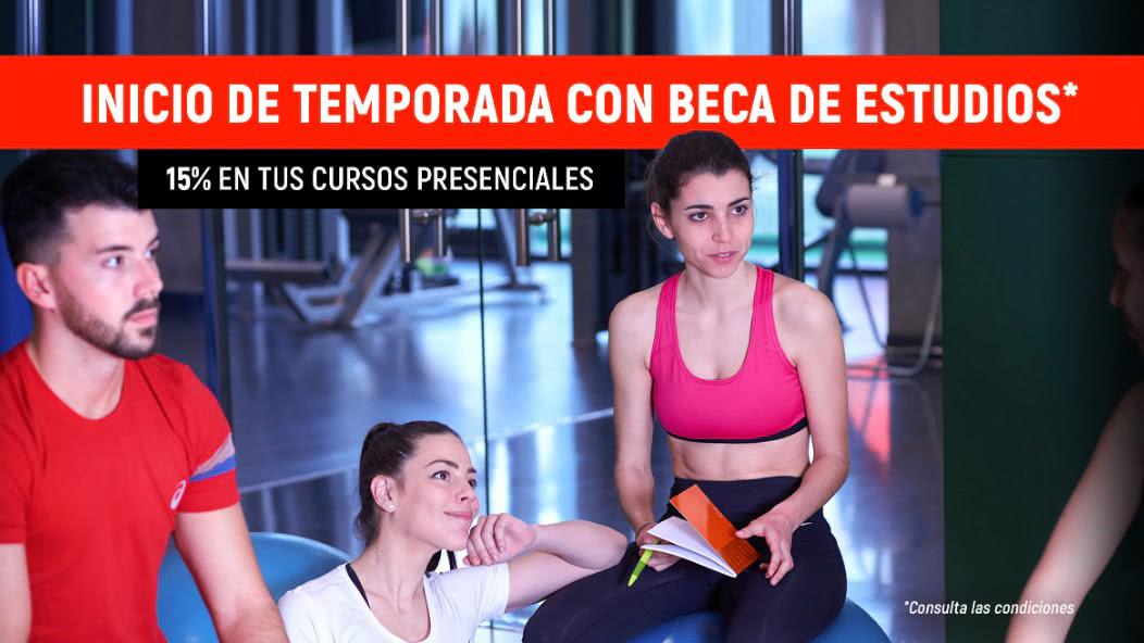 Beca Estudios de Fitness