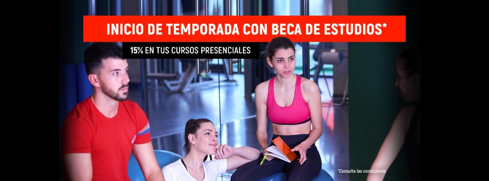 Becas de formación en fitness