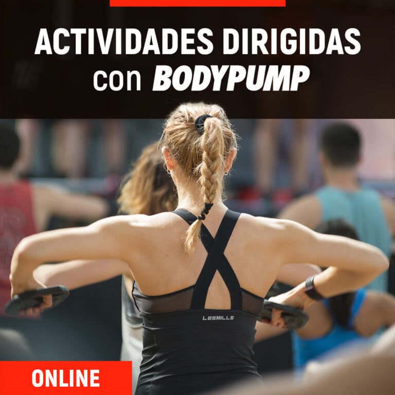 Actividades Dirigidas + BodyPump Online | ESHI
