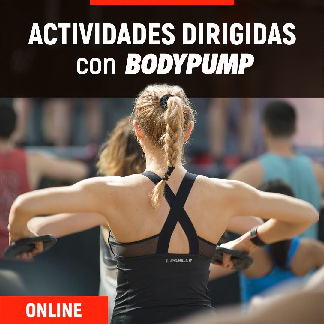 Actividades Dirigidas + BodyPump Online