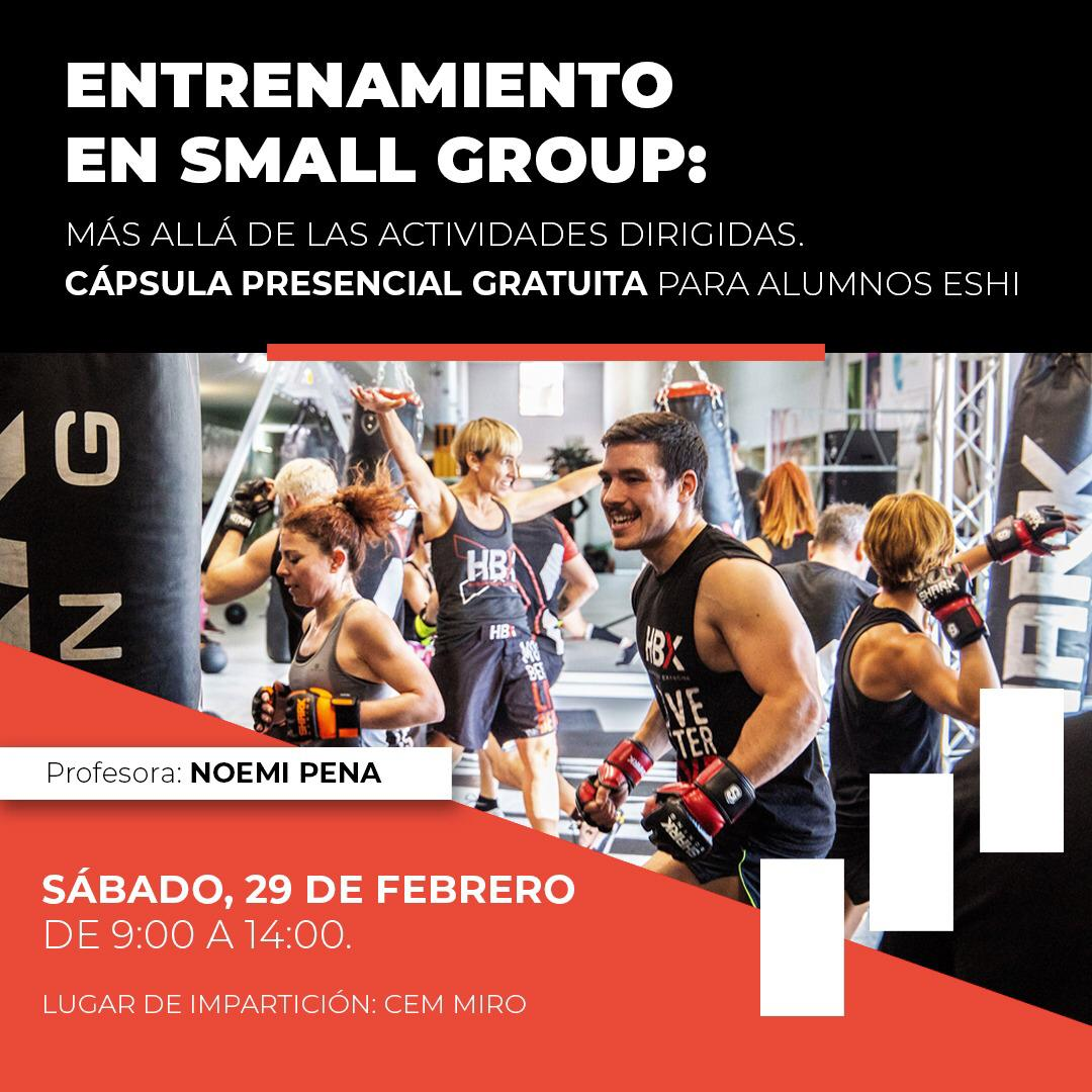 Entrenamiento personal en Small Group